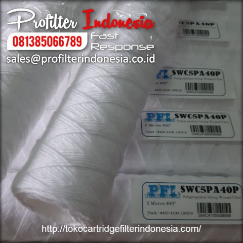 String Wound Cartridge Filter Indonesia