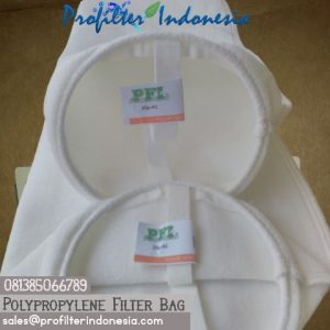 "Filter Bag 6"" x 20"" Polypropylene"